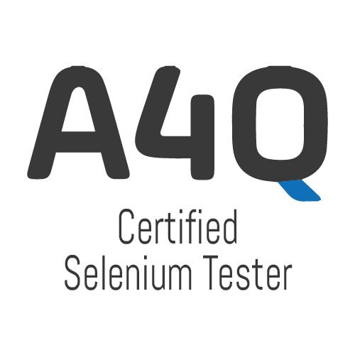A4Q Certified Selenium Tester