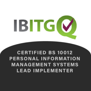 IBITGQ Certified BS 10012 Personal Information Management Systems Lead Implementer