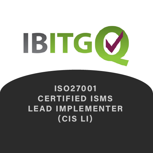 IBITGQ ISO27001 Certified ISMS Lead Implementer (CIS LI)