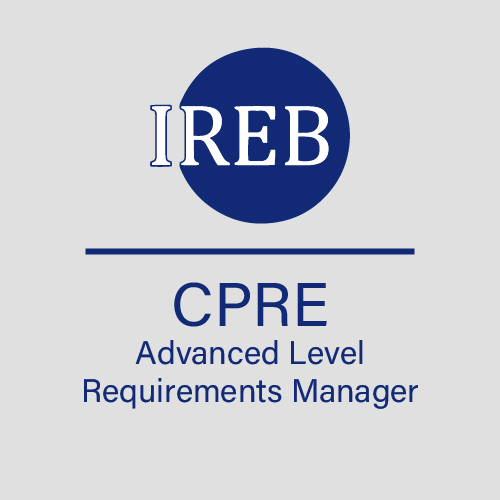IREB CPRE Advanced Level Requirements Manager