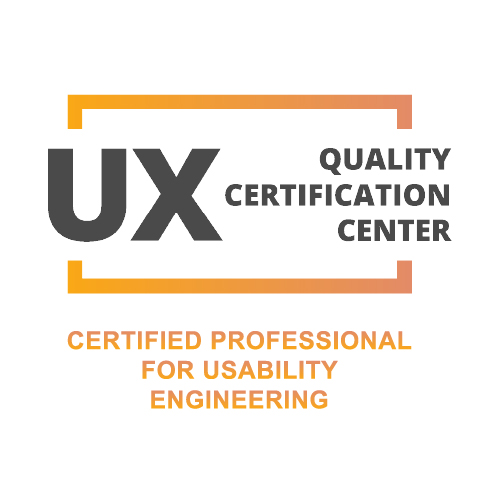 UXQCC Certified Professional for Usability Engineering
